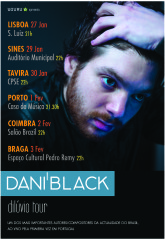 Dani Black – Dilúvio Tour
