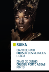 BUIKA : WORLD TOUR