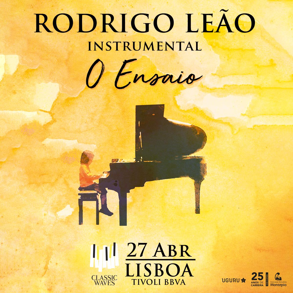 """Rodrigo Leão - Instrumental """"O Ensaio"""""""